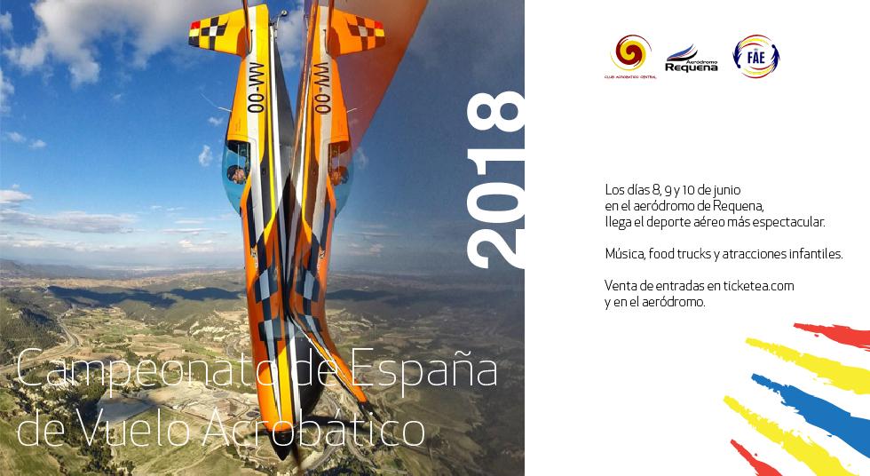 banner web 01 980x536 - CAMPEONATO DE ESPAÑA DE VUELO ACROBATICO (CEVA) 2018 - AERODROMO DE REQUENA